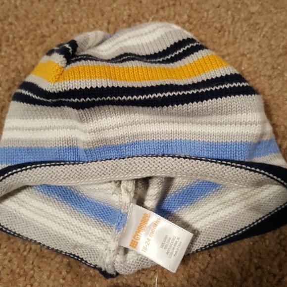 NWT GYMBOREE Under the Sea Blue Knit Hat sz 3-6mos